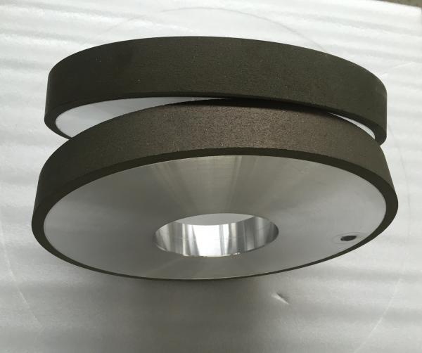 Quality Resin Bonded Metal Bond Diamond Wheel , Polishing Flat Diamond Grinding Wheels for sale
