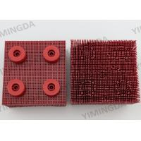 China Red 90 * 95 mm Auto Cutter Nylon  Bristle for Lectra VT5000 / 7000 cutter on sale