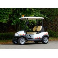 China Small 2 Seater Electric Patrol Car For Public Safety Half - Closed Type wholesale