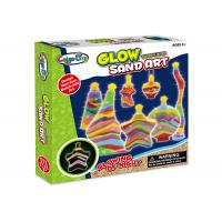 Buy cheap Educational DIY Glow Sand Arts And Crafts Toys Learning Kit W / Bottles Age 5 from wholesalers