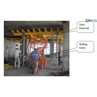 China Construction Suspended / Concrete Slab Formwork Systems Shifting Trolley on sale
