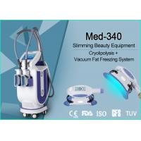 China Professional Cellulite Reduction Cryolipolysis Vacuum Machine Continuous Contact Cooling wholesale