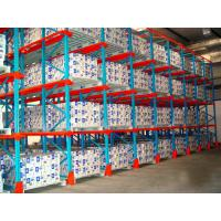 China Cold Store Drive In Pallet Rack Adjustable Pallet Racking With Centering Rails on sale
