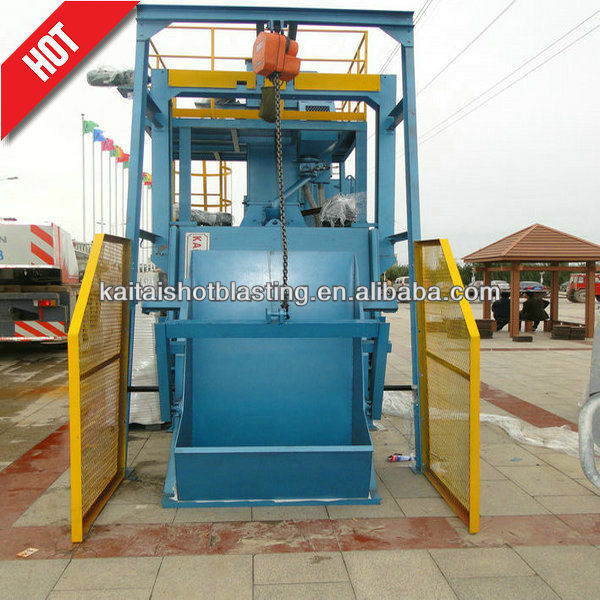qr3210 tumble belt type wheel blast cleaning machine/sand