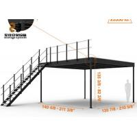 China Steel Structure 2-Layer Industrial Mezzanine Floors Racking System wholesale
