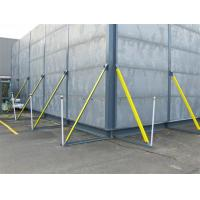 China Portable /Temporary Perforated metal acoustic sound barriers/Panels on sale
