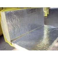 China Sound Absorption Rockwool Insulation Board Laminated With Aluminum Foil wholesale
