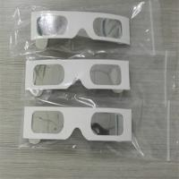 China Mylar Silver Film Solar Eclipse Glasses Meet Iso 12312-2 2015 Standard wholesale