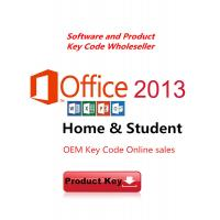 China Microsoft Office 2013 Product Key For Office Home and Student 2013 / OEM key Download wholesale