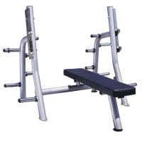 China High Performance Power Exercise Equipment Flat Press Bench With Smooth Outline wholesale