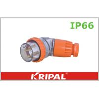 Buy cheap Orange 56 Series 500V Angled IP66 Plugs / Outdoor Plug Customized from wholesalers