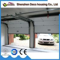 China Hurricane resistance 40mm insulated panel sectional overhead garage door with finger protection wholesale
