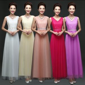 China Deep V Neck Lace Cute Dress Butterfly Bride Dresses Factory Wholesale Bridesmaids Dress wholesale