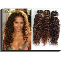 China Deep Wave Indian Non Remy Human Hair Weaving Nautral Color OEM ODM wholesale