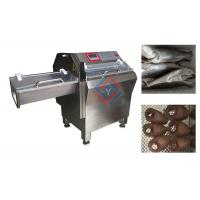 China Automatic Fish Processing Equipment , Frozen Fish Slicing Machine High Efficiency wholesale