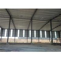 China Construction Precoated Roofing Sheets Prefabricated Steel Frame Warehouse In Philippines wholesale
