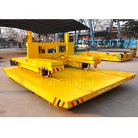 China Wide Gauge Electric Ferry Rail Traverser Industrial Rail Transfer Cart For Bay To Bay Material Handling wholesale