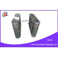 China Fully automatic tripod turnstile gate with One-dimensional code , 316 stainless steel wholesale