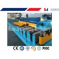 China GI / PPGI Color Steel Tile Cold Roll Forming Machine With 18 Forming Stations wholesale
