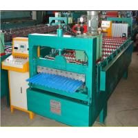 China C 10 steel roof wall profile roll forming machine tile press wholesale