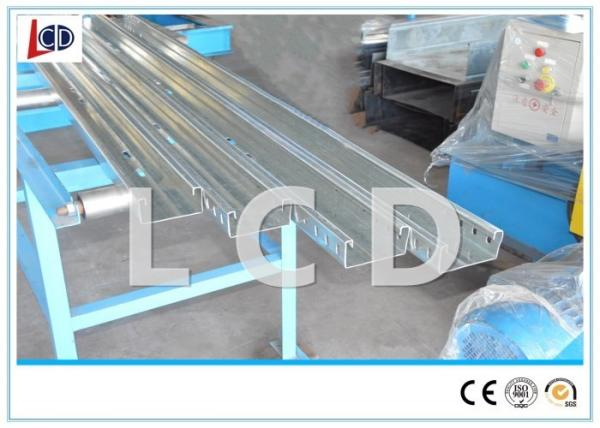 Quality Cable Ladder Roll Forming Production Line , Cable Tray Machine Manual Handle for sale