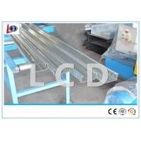 China Cable Ladder Roll Forming Production Line , Cable Tray Machine Manual Handle wholesale