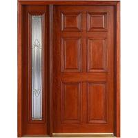 China Mahogany Wooden Door (KMG04) wholesale