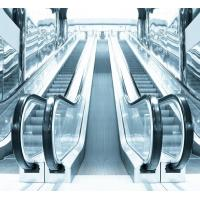 China 35 Degree Commercial VVVF Escalator with Glass Balustrade and Aluminum Step on sale