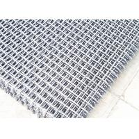 China Quartz Crusher Plant Accessories Crimped Anti-clogging Screen Mesh With Hook wholesale