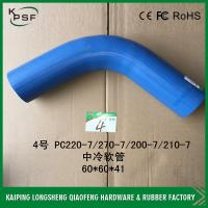 China PC220-7 / PC270-7 / PC200-7 / PC210-7 Excavator Hose komatsu excavator parts wholesale