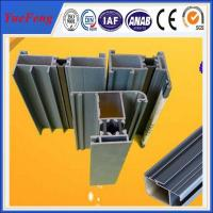 China Aluminium doors and windows designs, casement aluminum window frame extrution on sale