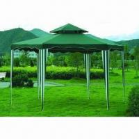 Quality 2x2x2m hexagonal gazebo, double roof for sale