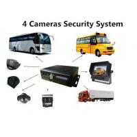 4G Vehicle Security Camera System With Mini MDVR For School Bus GPS Tracking