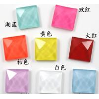 China Wholesale loose neon color hot fix acrylic rhinestone 15mm on sale