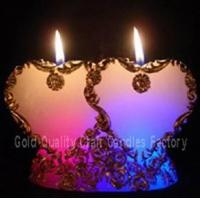 China heart shaped LED candle wholesale