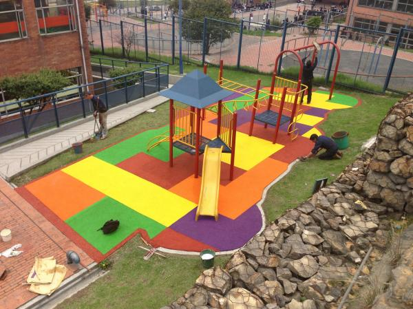 Rubber Flooring Playground