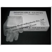 China EN455 Latex Free Synthetic Vinyl Gloves ,  PVC Medical Surgical Gloves  Fits Either Hands wholesale