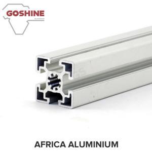 China silver white anodized aluminum profile for solar frame/extruded aluminum profile solar panel wholesale