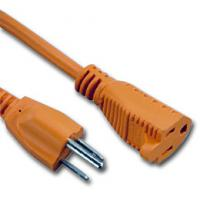 China UL certificated 3 Prong US AC Power Cord Cable NEMA 5-15P/IEC320-C19 wholesale