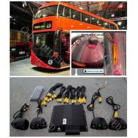 Rear View Monitor Bus Camera Surveillance Systems With Four Channel DVR and IR