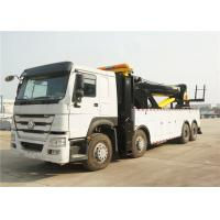 50T Road Wrecker Tow Truck 12 Wheels 8x4 371hp 50 tons Left / Right Hand Drive