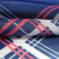 China 100% Poly Print Fabric with Checks for Lining of Leisure Suit, Wind Coat, Jacket and Suit Wear wholesale