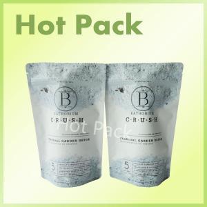 China Bathorium 600g Charcoal Garden Resealable Matte Ziplock Stand Up Bags wholesale