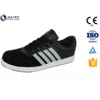 China Composite Toe Safety Shoes , Electrical Safety Shoes Steel Plate Breathable wholesale