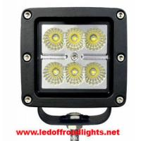 Buy cheap 18W IP68 waterproof LED work light, led lights for trucks from wholesalers