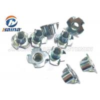 China Plain Finish Zinc Plated Tee Stainless Steel Nuts Four Claws Nut 731816 HS Code wholesale