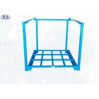 China 4 Layers Steel Stacking Racks Industrial Storage Racks Heavy Duty For Warehouse on sale