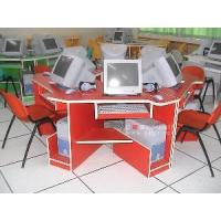 China New Style Computer Table (1 Set for 6 Students) of School Furniture (GT-24) wholesale