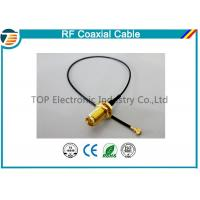 China High Frequency RF Pigtail Coaxial Cabl For Jumper Antenna Assembly wholesale