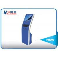 Buy cheap 17 inch automaticfreestanding touch queuing self service kiosk from wholesalers